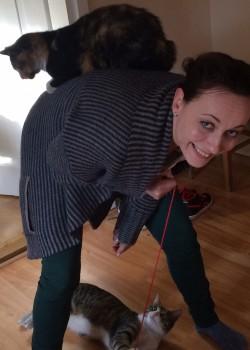 Aga Fryer, student veterinary nurse at Melton Veterinary Surgery