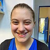 Megan Smith, receptionist at Melton Veterinary Surgery
